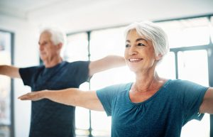 Cours de Pilates pour seniors